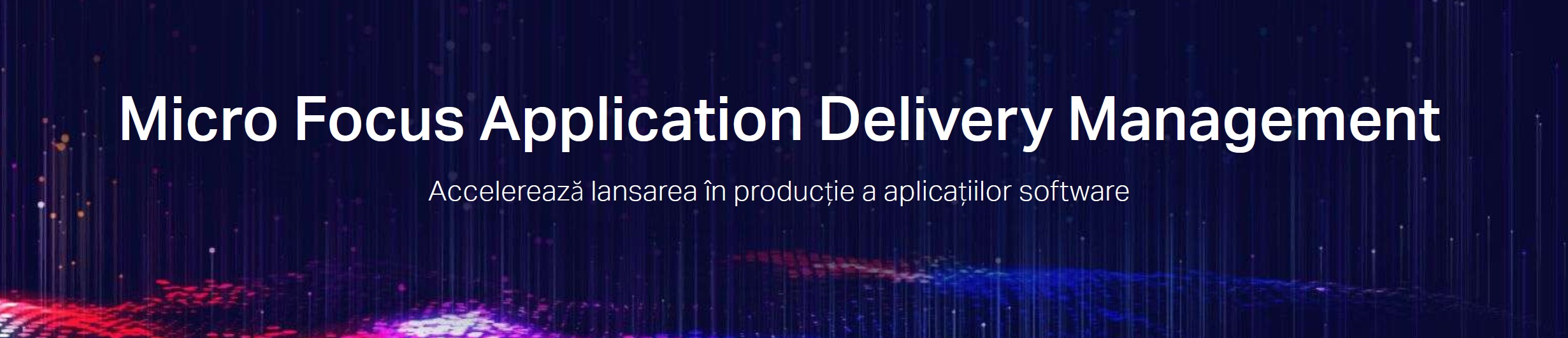 Micro Focus Application Delivery Management (ADM)