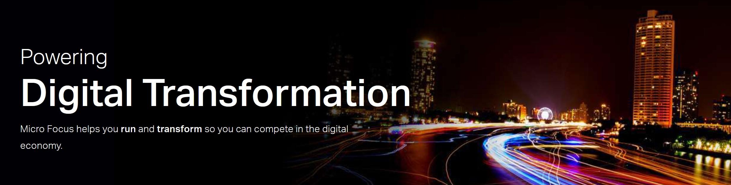 Powering digital transformation